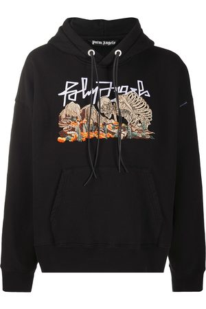Palm Angels Mænd Strik - DESERT SKULL HOODY BLACK MULTICOLOR