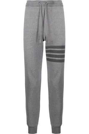 Thom Browne Mænd Joggingbukser - Stribede sweatpants i bomuld