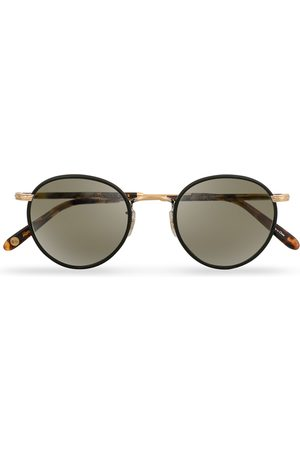 GARRETT LEIGHT Wilson 49 Sunglasses Matte Black/Tortoise/Pure Grey