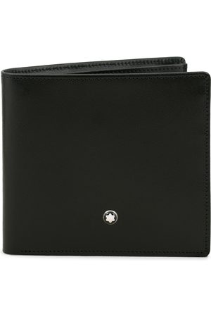 Mont Blanc Meisterstück Leather Wallet 8cc Black
