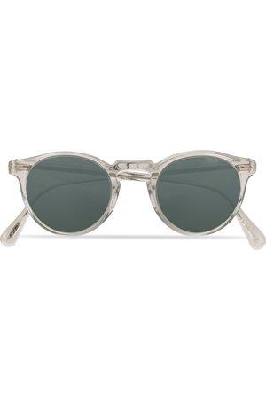 Oliver Peoples Gregory Peck Sunglasses Crystal/Indigo Photochromic