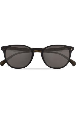 Oliver Peoples Finley ESQ Sunglasses Matte Black/Moss Tortoise
