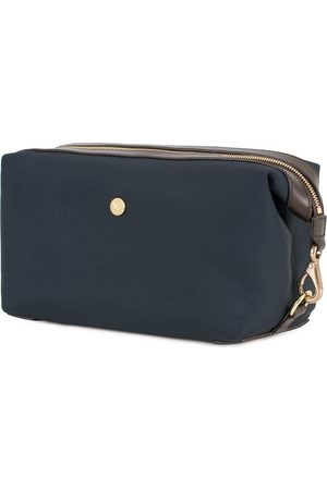 Mismo Mænd Toilettasker - M/S Nylon Washbag Navy/Dark Brown