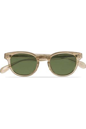 Oliver Peoples Sheldrake Sunglasses Buff/Crystal Green
