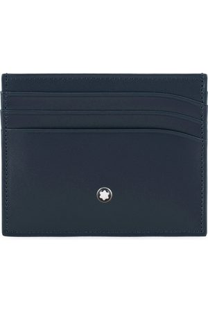 Mont Blanc Meisterstück Credit Card Holder 6cc Navy