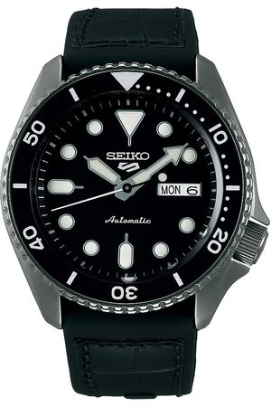 Seiko 5 Sports Mens 43mm 100m Automatic Black Dial