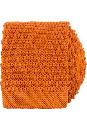 Amanda Christensen Knitted Silk Tie 6 cm