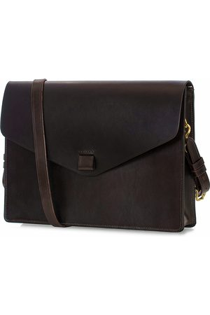 Tarnsjo Garveri Messenger Bag 3-In-1 Dark Brown
