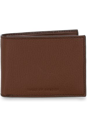 Tiger of Sweden Mænd Punge - Wrene Grained Leather Wallet Brown