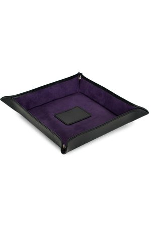 Wolf Blake Coin Tray Black/Purple