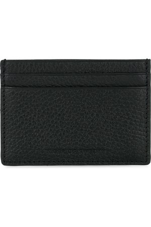 Tiger of Sweden Wake Grained Leather Cardholder Black