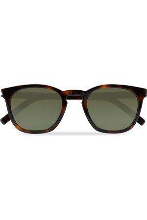 Saint Laurent SL 28 Sunglasses Havana/Green