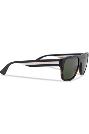 Gucci GG0341S Sunglasses Havana/Green