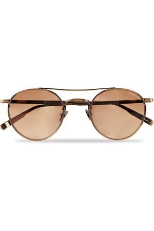 GARRETT LEIGHT Limited Edition X Rimowa 49 Sunglasses Flat Sienna