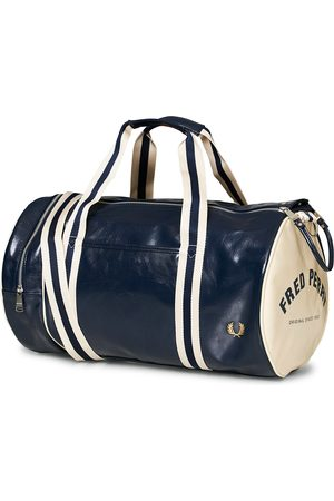 Fred Perry Classic Barrel Bag Navy