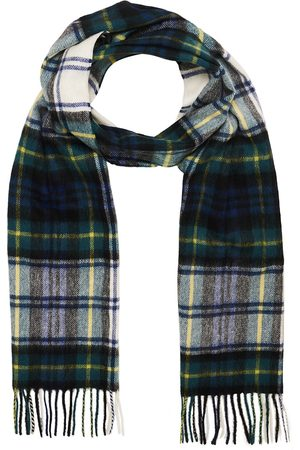 Barbour New Check Tartan Lambswool/Cashmere Scarf Dress Gord