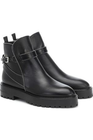 Alaïa Leather ankle boots