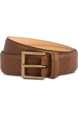 Crockett & Jones Belt 3,5 cm Tan Grained Calf
