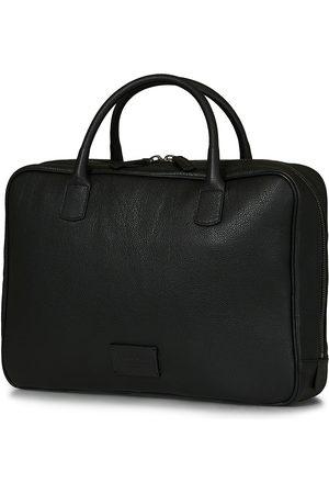 Anderson's Full Grain Leather Briefcase Black