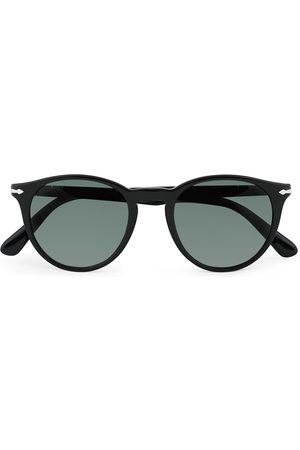 Persol 0PO3152S Sunglasses Black/Polar Green