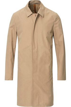 PRIVATE WHITE V.C. Unlined Cotton Ventile Mac Coat 3.0 Sand