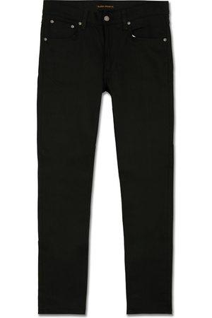 Nudie Jeans Lean Dean Organic Slim Fit Jeans Dry Ever Black