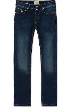Morris Steve Satin Jeans Dark Wash