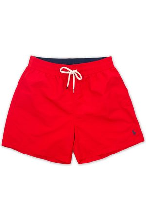 Polo Ralph Lauren Traveler Boxer Swimshorts RL Red