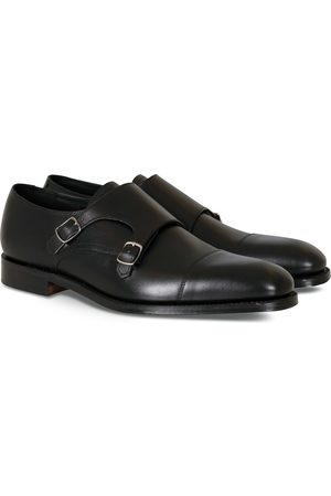 Loake Cannon Monkstrap Black Calf