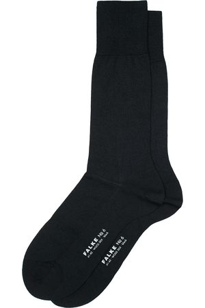 Falke No. 6 Finest Merino & Silk Socks Black