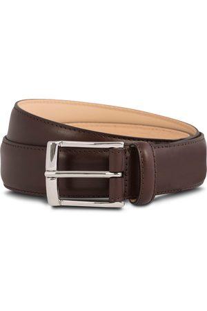 Crockett & Jones Belt 3,2 cm Dark Brown Calf