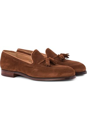 Crockett & Jones Cavendish Tassel Loafer Polo Suede