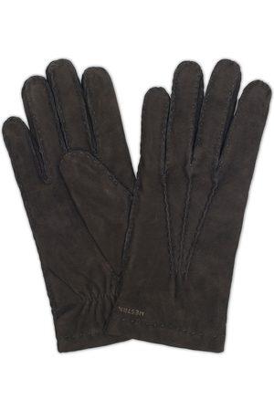 Hestra Arthur Wool Lined Suede Glove Black