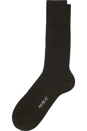 Falke No. 7 Finest Merino Ribbed Socks Brown