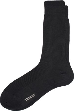 Pantherella Naish Merino/Nylon Sock Black