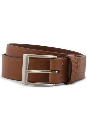 Tarnsjo Garveri Leather Belt 3cm Cognac
