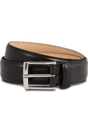 Crockett & Jones Belt 3,2 cm Black Calf
