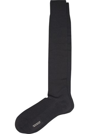 Pantherella Naish Long Merino/Nylon Sock Black