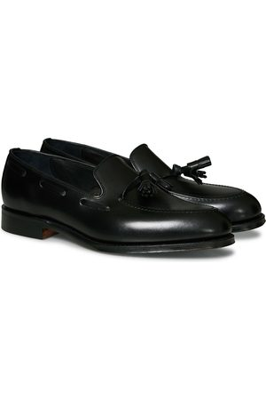 Loake Russell Tassel Loafer Black Calf