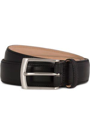 Loake Henry Leather Belt 3,3 cm Black