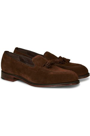 Loake Russell Tassel Loafer Polo Oiled Suede