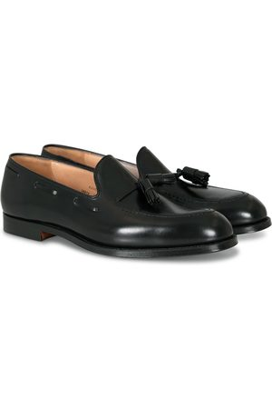 Crockett & Jones Cavendish 2 Tassel Loafer Black Calf