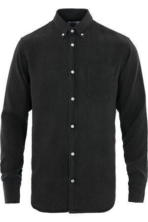 NN.07 Levon Tencel Denim Shirt Black