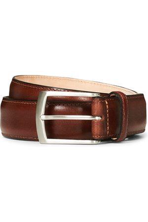 Loake Henry Leather Belt 3,3 cm Mahogany