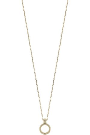 SNÖ of Sweden Lennox Ring Pendant Neck Accessories Jewellery Necklaces Dainty Necklaces Guld