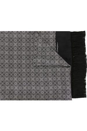 Dolce & Gabbana Mænd Tørklæder - Fringed silk scarf