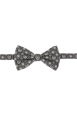 Dolce & Gabbana Mænd Butterflies - Geometric print silk bow tie