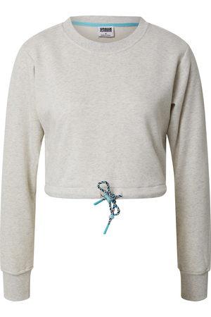 Urban classics Kvinder Sweatshirts - Sweatshirt 'Ladies Oversized Cropped Crewneck