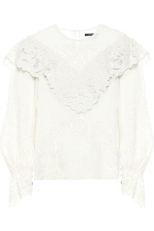 Isabel Marant Kvinder Bluser - Eloine linen blouse