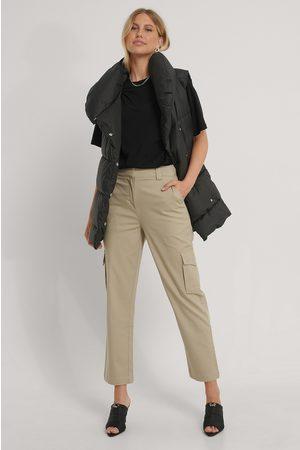 NA-KD Kvinder Bukser - Cotton Cargo Pocket Pants